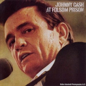 Johnny Cash at Folsom Prison, one of over 500 album covers by Jim Marshall