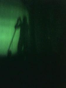 Trent Reznor Silhouette