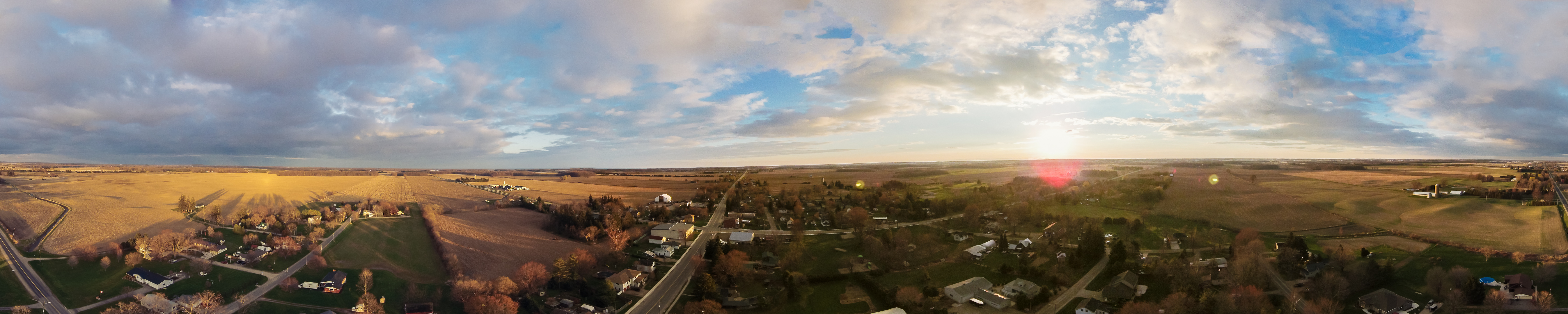 Panorama from 80 Meters